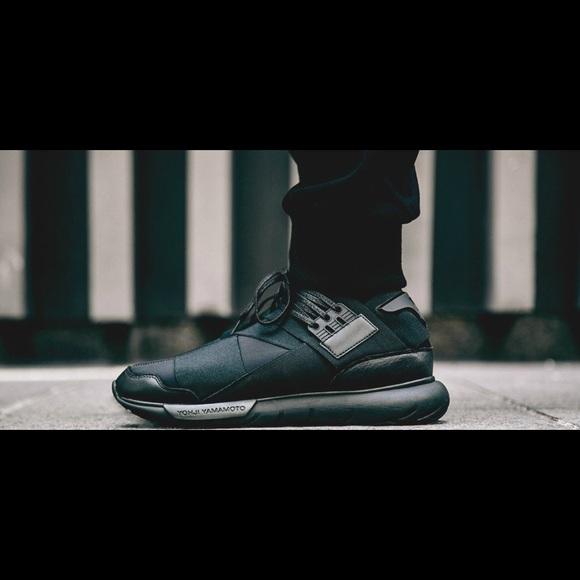 0a0392a08 Adidas Y3 Qasa High Triple Black(First edition)
